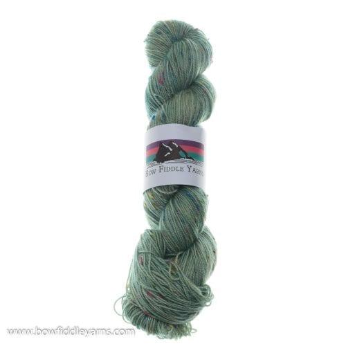 Bow Fiddle Yarns Superwash Merino & coloured nep- Seaview - 4ply yarn